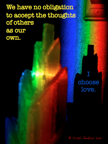 a rainbow prism