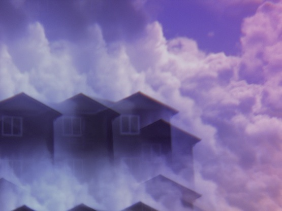 apartments appear in the clouds
