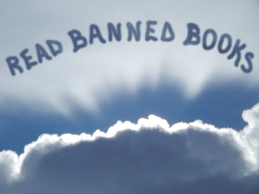 clouds in sky read banned books © Cristi Jenkins Creations