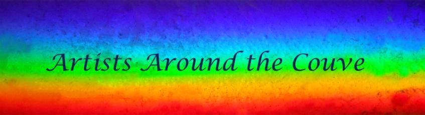 a rainbow colored strip